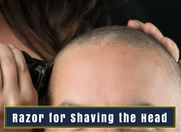 razor for shaving the head