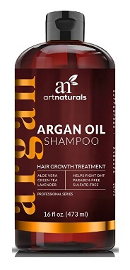 Image of Art Naturals Organic Argan Oil Hair Loss Shampoo