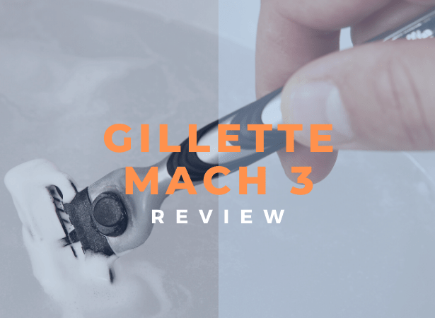 gillette mach 3 review image