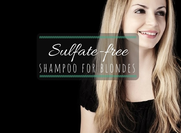 selfate free shampoo for blonde