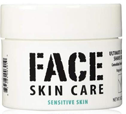 Image of Face Skin Care Shaving Cream