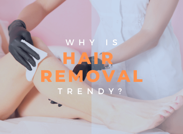 Hair removal trend image