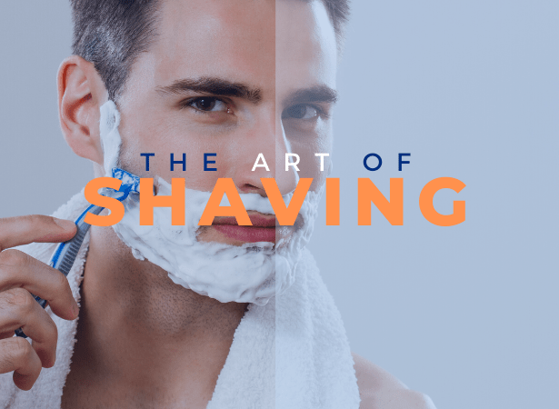 art of shaving image
