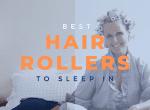 best hair rollers to sleep in image