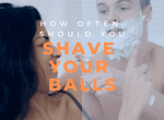 how Often to Shave Your Balls Image