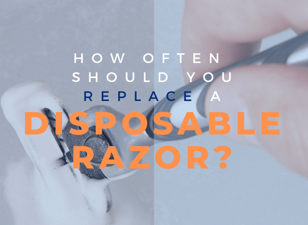 how many times can you use a disposable razor image