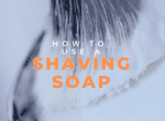 how to use shaving soap image