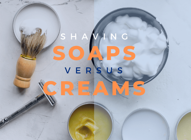 shaving soap vs shaving cream image