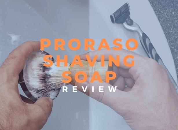 Proraso shaving soap review image