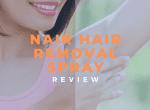 nair hair removal spray review image
