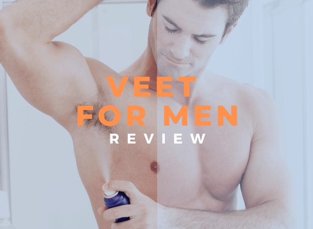 veet for men review image