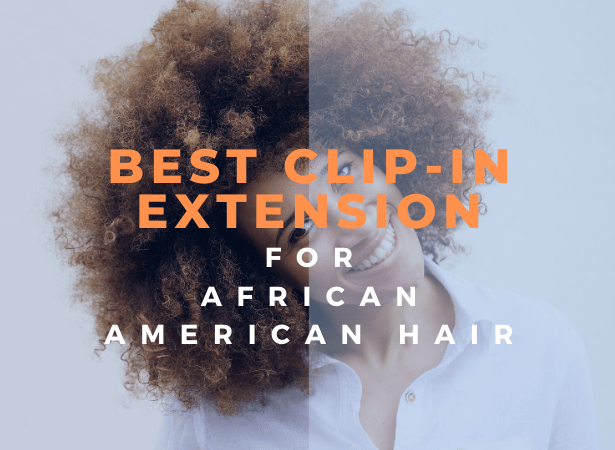 best clip in extension for african american hair image