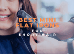 best flat iron for short hair image