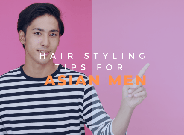 hair styling tips for asian men image