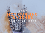 best hot curling brush for fine hair image