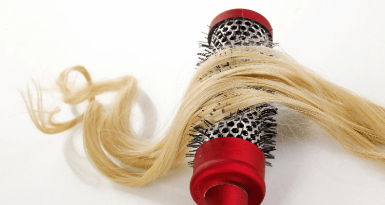 best hot curling brush for thin hair image