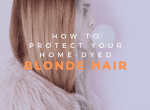 how to protect home-dyed blonde hair image